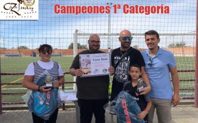 Finalizado el I Torneo de Pádel Caza Juan