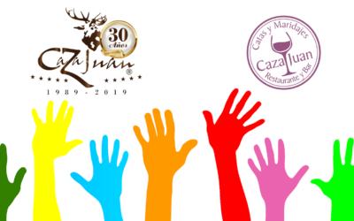 Sorteo Solidario Caza Juan: Cata Vinos de Nuestra Tierra
