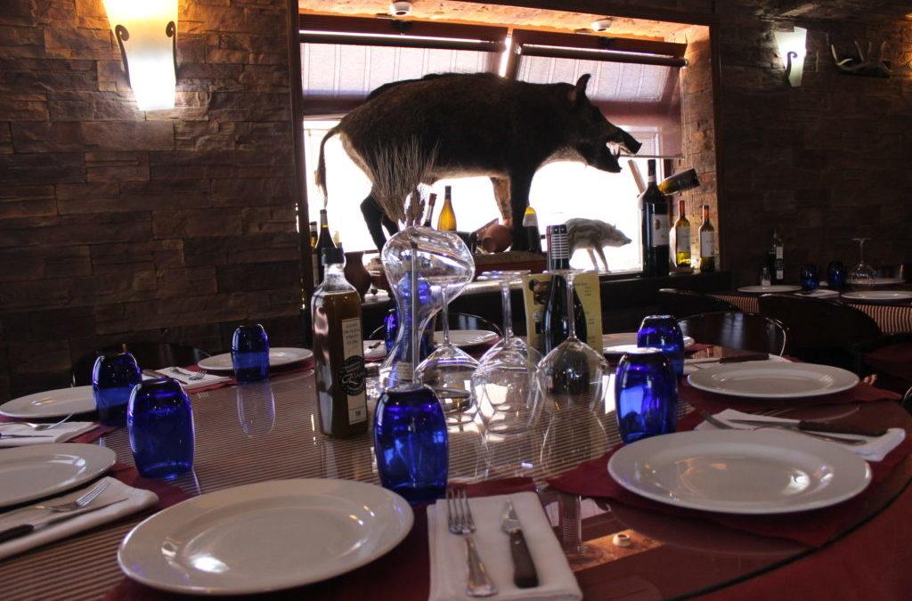 Carne de Jabalí, una de las especialidades de Caza Juan, tu restaurante en Sevilla