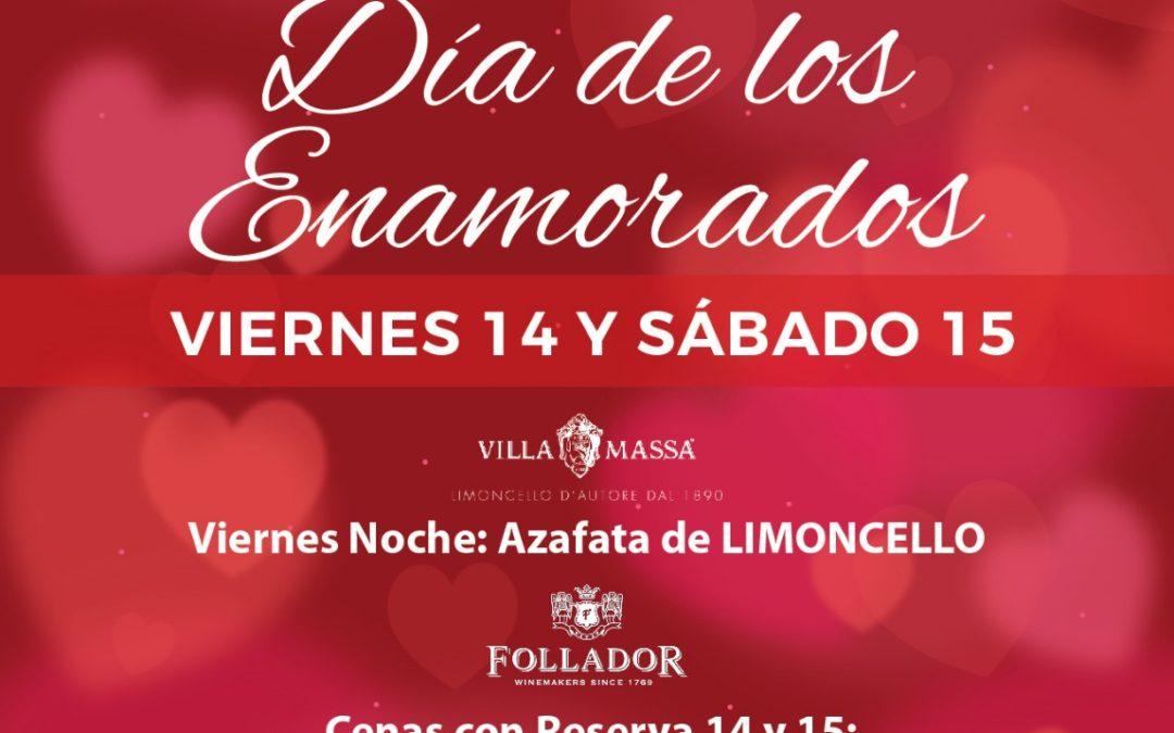 14 Febrero, Día de los Enamorados, en Caza Juan, tu restaurante de confianza en Sevilla