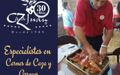 Caza Juan: Especialistas en Arroces y Carnes de Caza