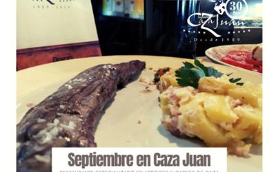 Septiembre en Caza Juan