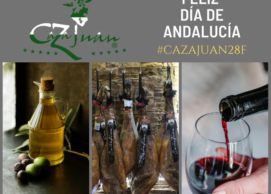 Feliz 28-F, Día de Andalucía, desde Caza Juan