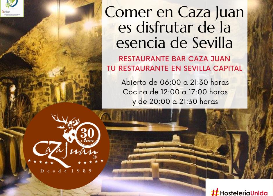 Nuevos horarios Covid19 Marzo en Caza Juan