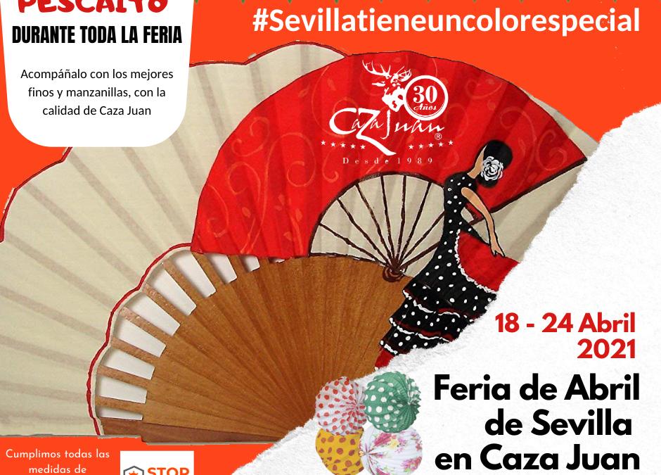 Vive la Feria de Abril de Sevilla con Caza Juan